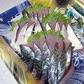 Photos: 鯖のお刺身…