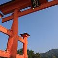 写真: 厳島神社☆大鳥居