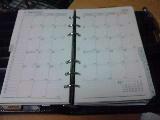 Photos: 20100202システム手帳 月間予定
