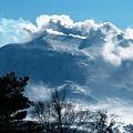 113 浅間高原ウィンターフェスティバル冠雪した浅間山