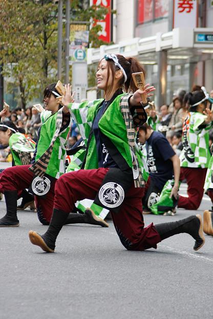 写真: 東京農業大学YOSAKOIソーラン同好会 大黒天_09 - 第10回 東京よさこい