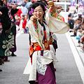 Photos: 早稲田大学よさこいチーム東京花火_04 - 良い世さ来い2010 新横黒船祭
