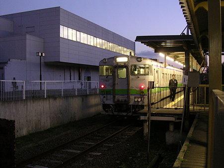 夕張駅ホーム2