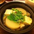 写真: 大根と豆腐の鍋