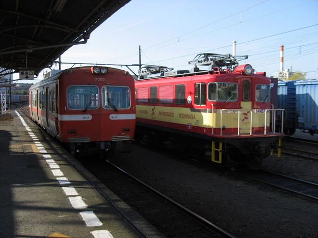 岳南鉄道 7002とED403