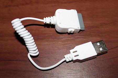 iPod 充電・データ転送USBケーブル(3/6)