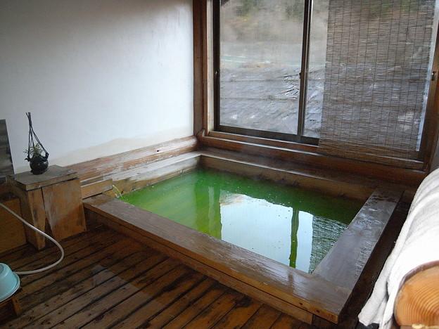 写真: 民宿さわぐちのお風呂