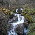 写真: 民宿さわぐちの裏を流れる川