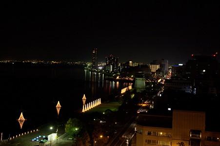 琵琶湖 夜景