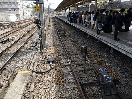 甲府駅身延線5番線