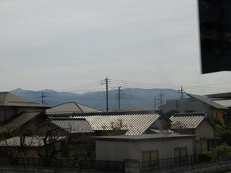 富士山1(身延線の車窓)