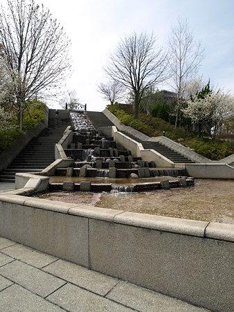 ぶどうの丘噴水公園(勝沼ぶどう郷駅付近)1