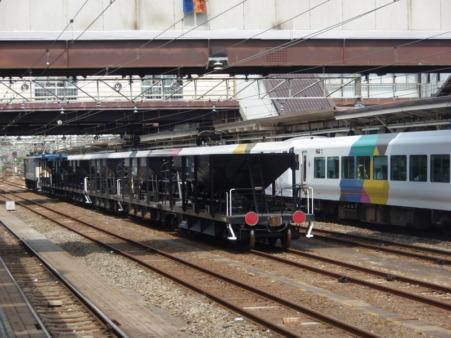 EF64-38+ホキ800(八王子駅)1