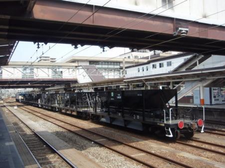 EF64-38+ホキ800(八王子駅)2