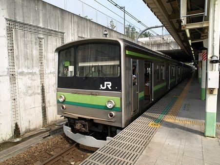 横浜線205系H15編成(八王子みなみ野駅)1