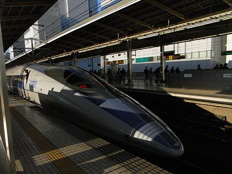 500系(新横浜駅)