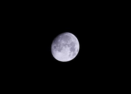 まだ満月じゃない