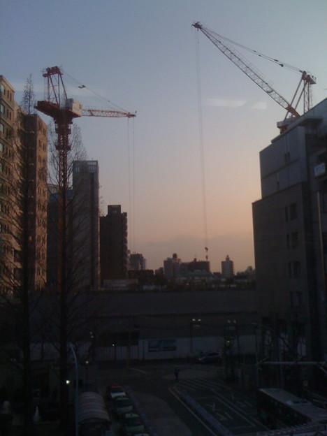 写真: 阿佐ヶ谷夕景