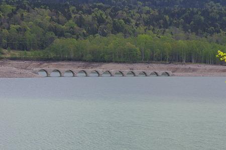 旧士幌線タウシュベツ川橋梁