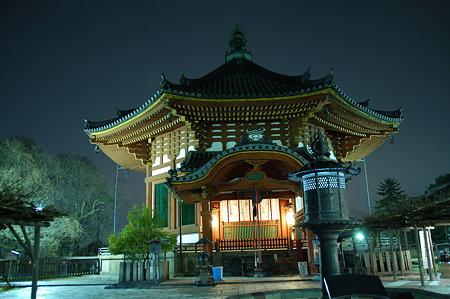 夜明け前の興福寺南円堂