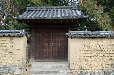 奈良 唐招提寺奥の院西方院