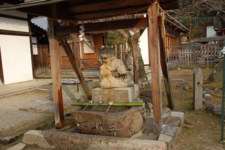 東大寺手向山八幡宮手水舎