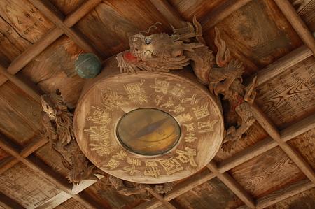 東大寺 二月堂前の手水舎 天井