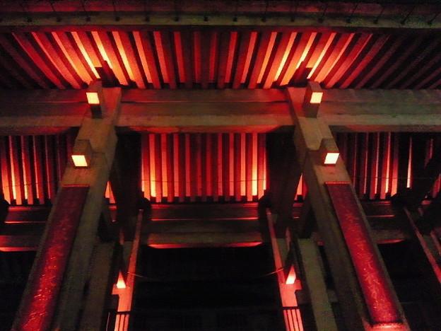 北御堂ライトアップ(1)