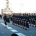国際観艦式(予行)儀杖隊