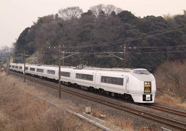 Photos: 常磐線 佐貫-牛久 特急スーパーひたち34号