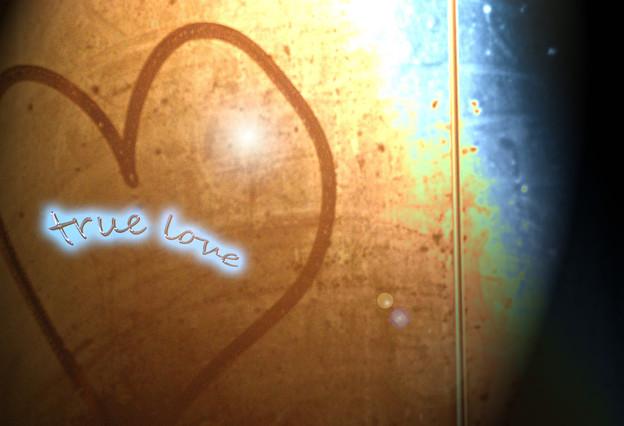 true love・・・。