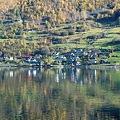 フィヨルドの景色