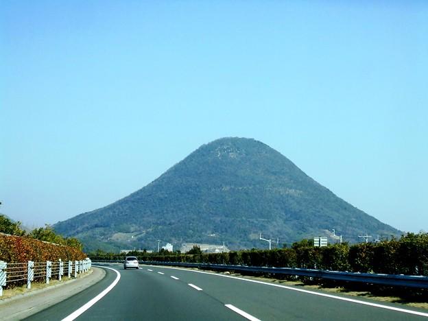 四国の富士山。