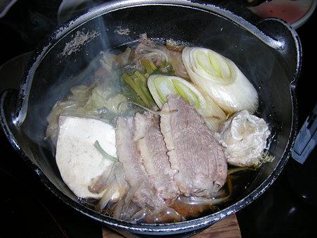 鴨鍋を食べました