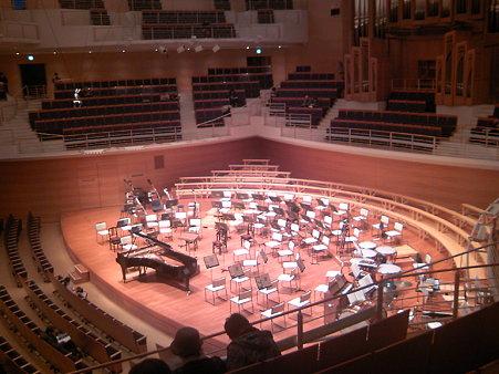 東京交響楽団第57回新潟定期前半セッティング
