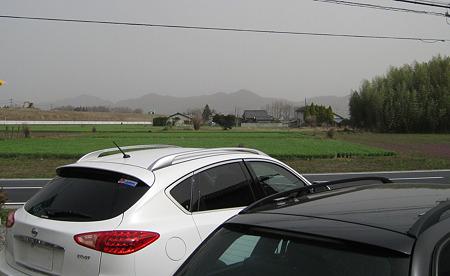 佐野市郊外 黄砂