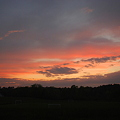 Afterglow after the Days of Rain