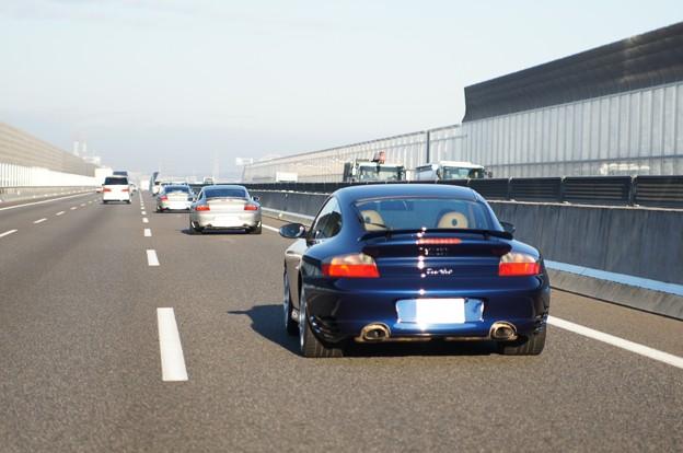 Porsche 996 Turbo ×3