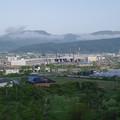 Photos: s7243_車窓_北海道新幹線車両基地工事中
