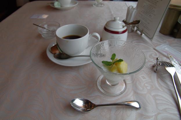 Photos: s7314_トワイライトエクスプレス_朝食4_コーヒーとデザート