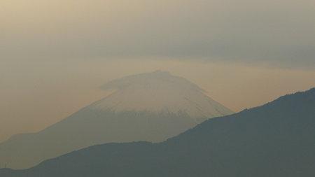 091105-富士山 笠雲