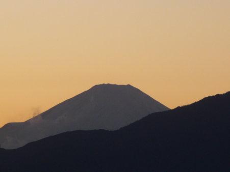 100101-富士山 夕