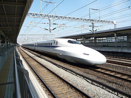100223-小田原駅 新幹線N700追抜き (64)