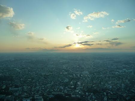 100310-富士山と夕陽 (26)