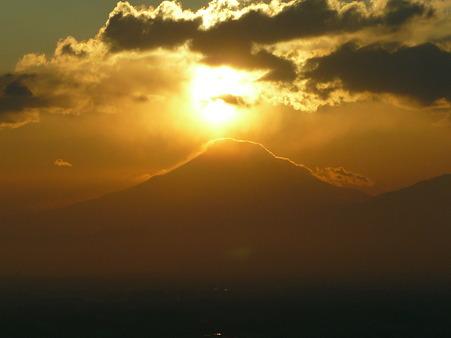 100310-富士山と夕陽 (37)