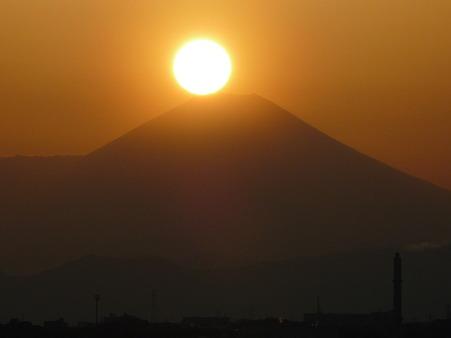 100311-富士山と夕陽 (23)
