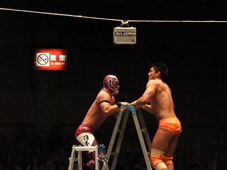 全日本プロレス 後楽園ホール 20110712 (3)