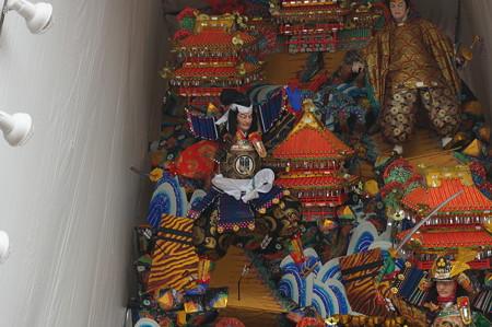 10 2014年 博多祇園山笠 福岡ドーム 飾り山笠 合戦大保原 (7)