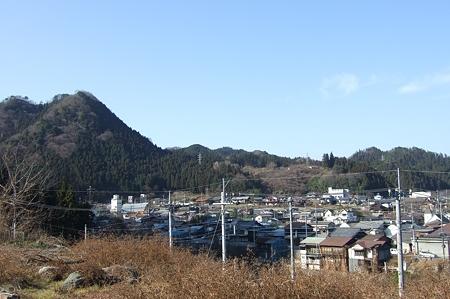 下仁田駅周辺の町を一望