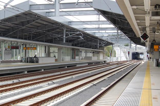 京成電鉄 成田湯川駅ホーム